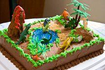 Dinosaur Cakes / by Tina Kuddes