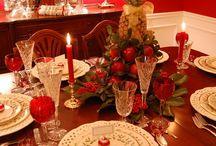 Centro tavola natalizi