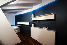 arredo zona notte e bagno- sleeping area and bathroom furniture / arredo zona notte e bagno in resina e teak   sleeping area and bathroom furniture in resin and teak