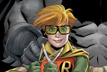 Comic Women Character - Robin (Carrie Kelly)