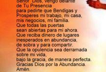 Oraciones de prosperidad