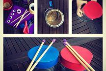 muzyczne zabawy dla dzieci / Music Games and Music DIY by Rudzik Polny