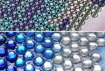 Divers Strass - Rhinestone mosaic painting Dessin , drawing / dessin ou photo pour schéma à faire en strass ou rhinstone mosaic de 2 x 2 mm