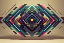Geometric illustration (design trend)