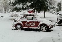 Coca Cola / I see Coca Cola everywhere, in the weirdest places. Talk about branding! (But I must confess, I prefer Pepsi)