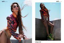 Lightning shadows for iMute Magazin / Photographer / Nicoleta Sabau Model / Sara Neagu @ Victoria Models Stylist / Oana Ancuta Briciu Make up & Hair / Inna Lupu