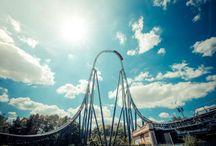 Thorpe Park / Thorpe Park - Theme Park in Surrey, England.