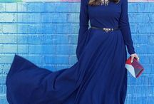 Blue Is Just Cool / Modest Blue clothes and other stuff. / by Nathalie Fernando