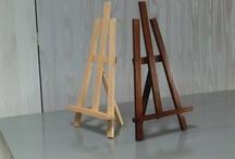 Artículos de madera / Artículos de madera hechos de manera artesanal.