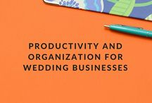 Productivity and Organization for Wedding Businesses / Original blog posts from WeddingIQ.com on the topics of productivity, organization, and planning for a successful small business within the wedding industry. Learn about working effectively in a commercial office or home office, time management, goal setting, utilizing a planner, productivity apps and hacks, and more. See more at http://weddingiq.com/blog/?category=Productivity.