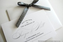 Ideas for Save the Date's {Design}