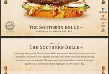 Unique burgers
