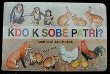 Knížky pro děti / Naše oblíbené knížky pro děti.