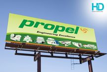 Billboards & Outdoor Ads / Billboards and Outdoors conceptualized, designed and erected for our esteem clients
