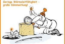"""Fachchinesisch? Nein, Bauphysik! """"Das Wort zum Montag"""" von PUonline / Bauphysik beschreibt den Austausch von Wärme und Feuchte in Bauteilen und Gebäuden. In unserer Rubrik """"Das Wort zum Montag"""" nehmen wir bauphysikalische Überlegungen unter die Lupe und erklären wichtige Begriffe."""