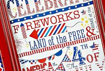 Patriotic Holidays / Decorating and party ideas for Memorial Day and The Fourth of July.