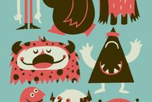 Illustration : Character / Illustrated and Animated characters