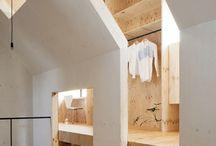 Zolder / schuin dak
