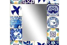 bleue pottery