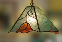 Lámparas vitraux