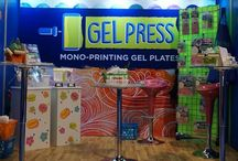 Gel Press™ Convention Fun / See the fun we have at trade shows with Gel Press™!