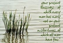Quotes ~ Thankfulness & Blessings / Quotes about being thankful and the blessings in life...