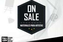On Sale / ¡Atención #LoveArt! No te pierdas las ofertas que tenemos en #StudioArteyDiseno. ¡Crea sin límites!