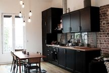 kjøkken teglstein