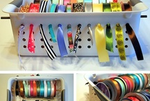 Ribbon storage..door charm