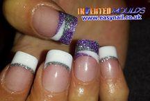 dual form acrylic nails