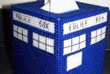 Doctor Who free patterns / Doctor Who related patterns available for free at the time I found them.