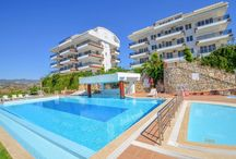 2 bedrooms residence flat for sale in Konaklı with stunning sea view.