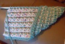 Tunisian crochet/hakking