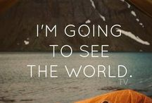 I'm going to see the world / by Sandi Sheffield