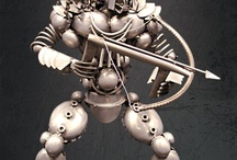 Nuts and bolts art
