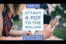 iPhone Tips, Tricks and Tutorials / Some great videos, infographics and articles showing you how to get the most out of your iPhone