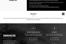 Website Design / Websites designed using WordPress and CSS integration- design by Wild Heart Design SA