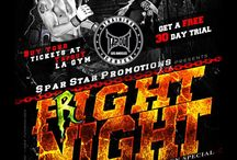 MMA Event Posters by Sniper / Posters I made for MMA Fight Events