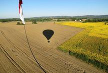 montgolfière près de Toulouse / Il est possible d'effectuer un vol en montgolfière tout près de Toulouse avec Atmosph'Ail