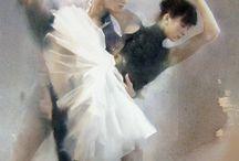 watercolour ballet