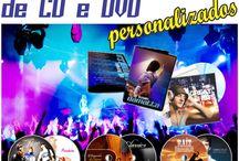 Encartes CD e DVD Bandas