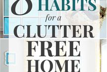 Declutter / Creative ways to declutter your home and organize your life. Check out these easy decluttering ideas and tips to organize your home and get it under control! Learn how to declutter your kitchen, bedroom, bathroom, kid's room, closets, and every other area of the home! Start decluttering clothes, books, toys, and all the other unused stuff in your home today!