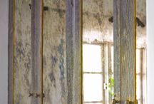 Distressed mirrors