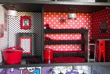 Monster High huse og ting til monster High huse