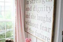 Arri's Room / Ideas for Arri's room