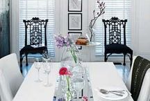 Live in It / Decorating - useful tips and  funways to decorate with candles,frames, mirrors and clocks