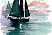gemiler ve deniz