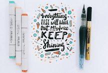 Inspiring Lettering