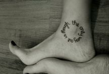 tattoos / by Pamela Woodward