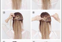 Μαλλιά μισά πιασμενα